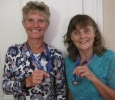 Silver medals - 3k Chichester lake swim
