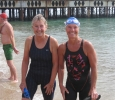Lindsey wins silver at the Eastbourne 2k open water swim