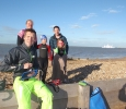 Sports Relief swim with Radio Solent DJ Bob Diggles